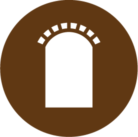 brown arch